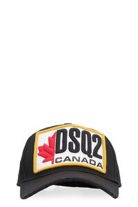 Embroidered baseball cap, Hats Dsquared2 man