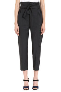 Wool tailored trousers, Tapered pants Iro woman