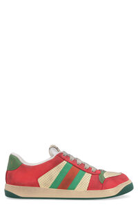 Sneakers Screener in pelle, Sneakers basse Gucci man