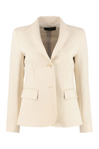Rete single-breasted two-button blazer, Blazers Weekend Max Mara woman