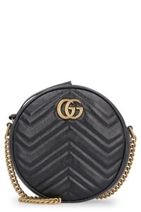 GG Marmont leather shoulder bag, Shoulderbag Gucci woman