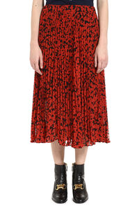 Printed pleated skirt, Pleated skirts MICHAEL MICHAEL KORS woman