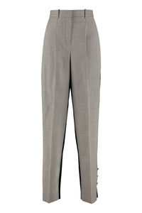 Wool wide-leg trousers, Trousers suits Givenchy woman