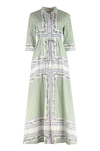 Printed long shirtdress, Printed dresses Tory Burch woman