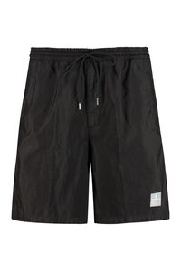 Collins logo print track shorts, Shorts Department 5 man