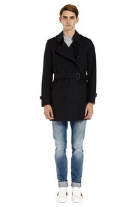 Short cotton trench coat, Raincoats And Windbreaker Burberry man