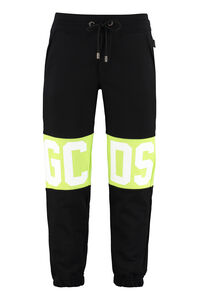 Stretch cotton track-pants, Track Pants GCDS man