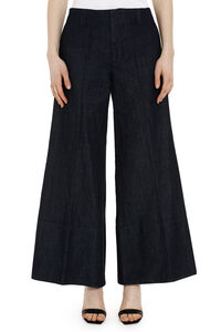 Palazzo jeans, Cropped Jeans Marni woman