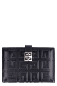 Logo leather wallet, Wallets Givenchy woman