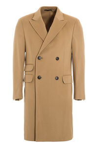 Double-breasted wool coat, Overcoats Z Zegna man