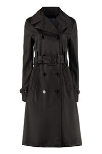 Nylon trench coat, Raincoats And Windbreaker Prada woman