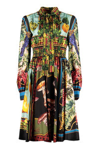 Printed silk dress, Printed dresses Dolce & Gabbana woman