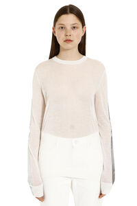 Fine knit crew-neck pullover, Crew neck sweaters Maison Margiela woman