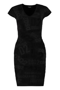 Stretch sheath dress, Mini dresses Dsquared2 woman