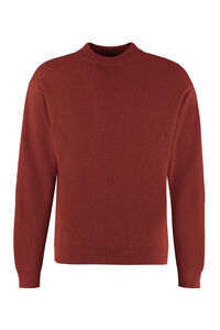 Duane long sleeve crew-neck sweater, Crew necks sweaters Nanushka man