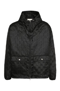 Gucci Off The Grid hooded jacket, Raincoats And Windbreaker Gucci man