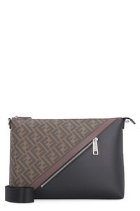 All-over logo messenger bag, Messenger bags Fendi man
