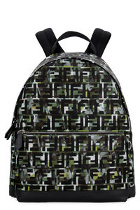 Printed nylon backpack, Backpack Fendi man
