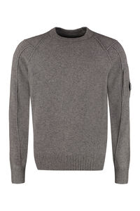 Wool-blend crew-neck sweater, Crew necks sweaters C.P. Company man