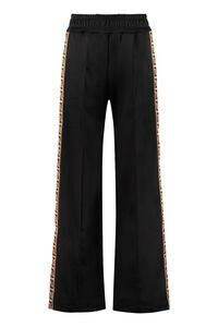 Logoed side stripes track-pants, Track Pants Fendi woman