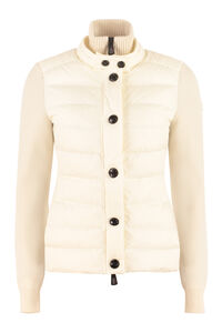 Cardigan with padded front panel, Casual Jackets Moncler Grenoble woman