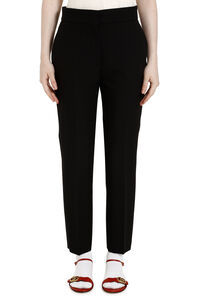 Crêpe slim fit trousers, Trousers suits MSGM woman