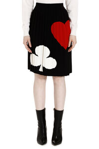 Pleated knitted skirt, Pleated skirts Boutique Moschino woman