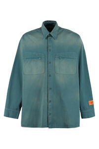 Cotton shirt, Plain Shirts Heron Preston man