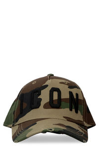 Icon embroidered baseball cap, Hats Dsquared2 man