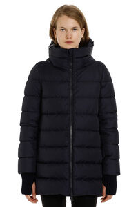 Full zip padded hooded jacket, Down Jackets Herno woman