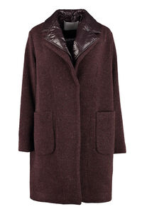 Coat with removable inner vest, Knee Lenght Coats Fabiana Filippi woman