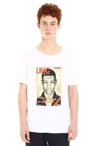 Printed short sleeve cotton T-shirt, Short sleeve t-shirts Neil Barrett man