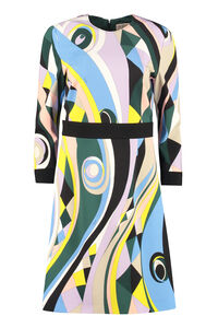 Printed jersey sheath-dress, Printed dresses Emilio Pucci woman