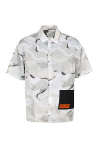 Short sleeve nylon shirt, Short sleeve Shirts Heron Preston man