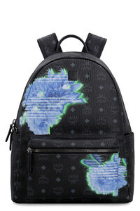 Stark Tech Flower Visetos backpack, Backpack MCM woman