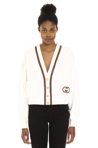 Sport style cropped jacket, Casual Jackets Gucci woman