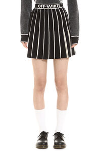 Swans pleated skirt, Pleated skirts Off-White woman