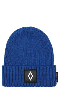 Ribbed knit beanie, Hats Marcelo Burlon County of Milan man
