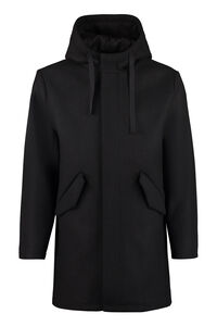 Benolt hooded wool coat, Overcoats A.P.C. man