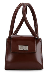 Sabrina leather mini-bag, Top handle by FAR woman