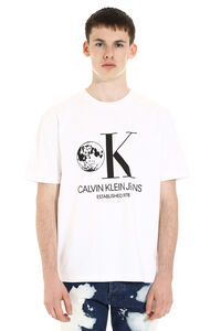 Printed cotton t-shirt, Short sleeve t-shirts CALVIN KLEIN JEANS EST. 1978 man
