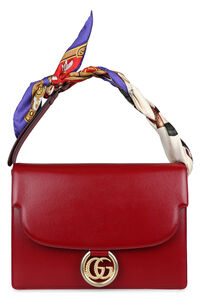 Leather shoulder bag, Top handle Gucci woman