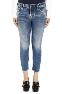 Cropped jeans Cool Girl, Jeans skinny Dsquared2 woman