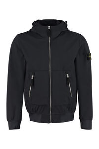 Hooded windbreaker, Raincoats And Windbreaker Stone Island man