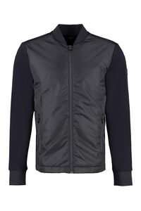 Cardigan with padded front panel, Cardigans BOSS man
