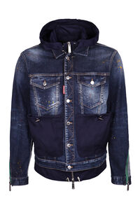 Denim jacket, Denim jackets Dsquared2 man
