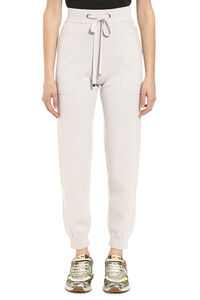 Wool and cashmere knit track-pants, Track Pants S Max Mara woman