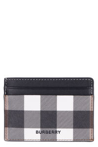 Coated canvas card holder, Wallets Burberry man