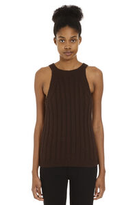Ribbed knit top, Tanks and Camis Maison Jejia woman