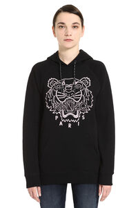 Logo cotton hoodie, Hoodies Kenzo woman